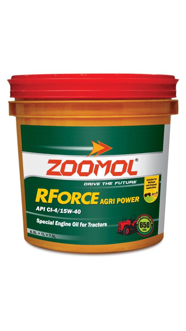 ZOOMOL RFORCE AGRI POWER 15W-40 CI-4