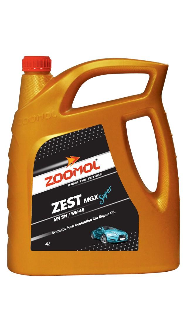 ZOOMOL ZEST MGX SUPER 5W-40 SN/CF