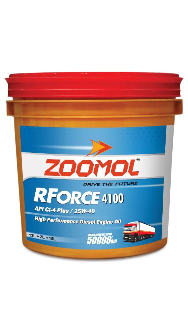 ZOOMOL RFORCE 4100, 15W-40 CI-4 PLUS