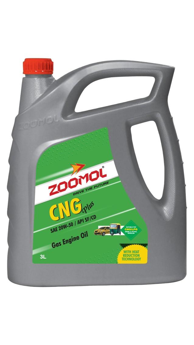 ZOOMOL CNG PLUS 20W-50 SF/CD