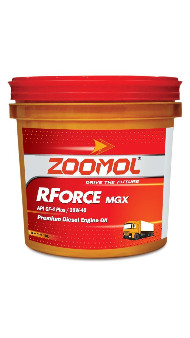 ZOOMOL RFORCE MGX. 20W-40 CF-4